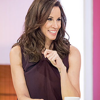 Andrea McLean - TV presenter, formerly on GMTV, she now fronts Loose